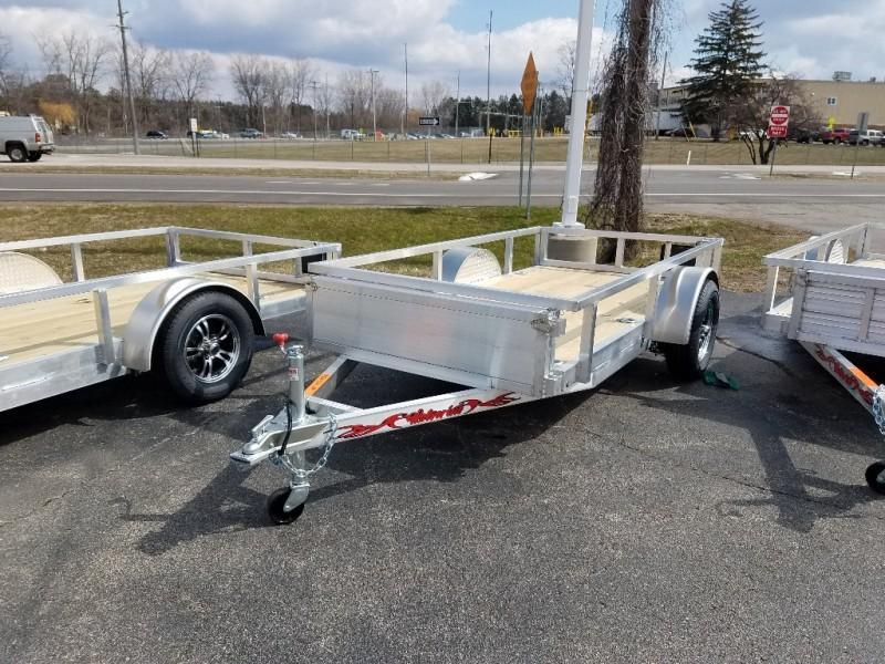 2021 Wolverine 5 x 10 Single Axle Utility Trailer