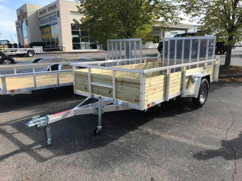 2020 BNM 6x12 Aluminum Utility Trailer Drop Gate