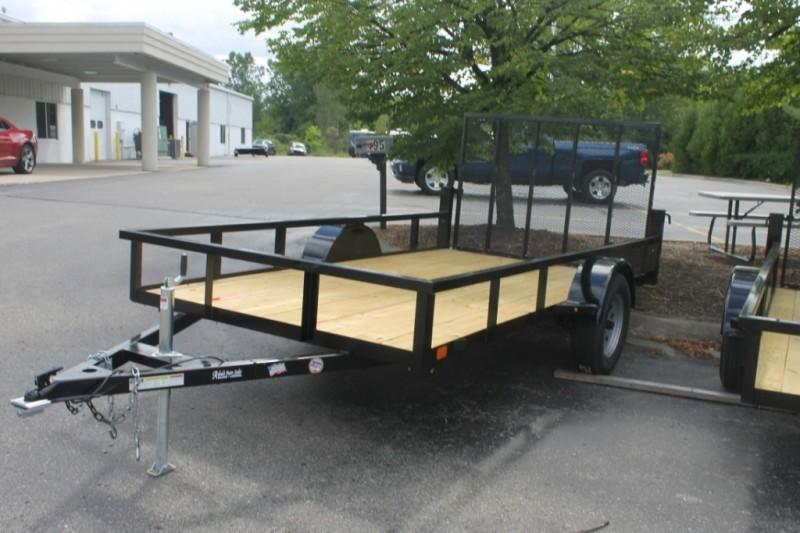 2020 Adado 6 x 12 Low Side Utility Trailer w/ Drop Gate