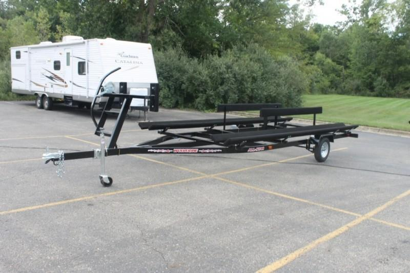 2020 Wolverine 16' All Star Painted Bunk Pontoon Trailer