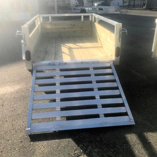 2021 Quality Steel and Aluminum Utility Trailer 82x14