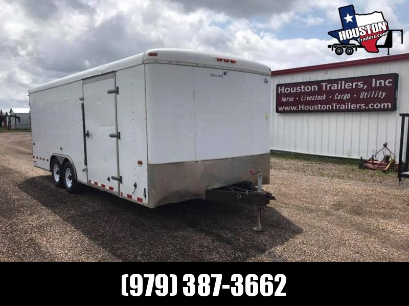 2008 Forest River 20x8.5 Enclosed Cargo 10k Enclosed Cargo Trailer