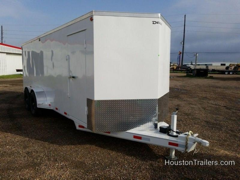 "2019 Delco Trailers 20' x 6'8"" Enclosed Cargo Trailer DEL-76"