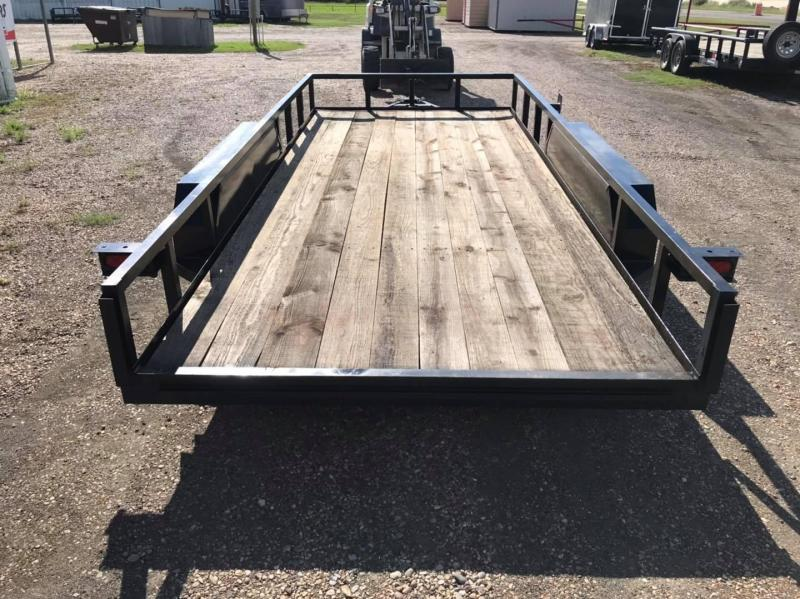 2021 Salvation Trailers 16' Flabed Utility 5k Utility Trailer