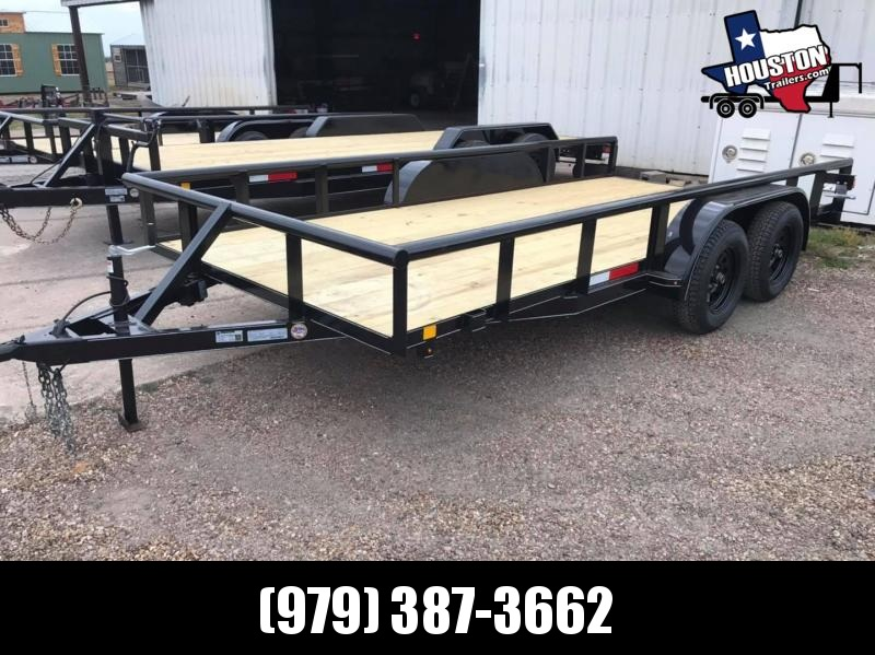 "2021 J&C Trailers 16' x 83"" Pipetop 7k Utility Trailer"