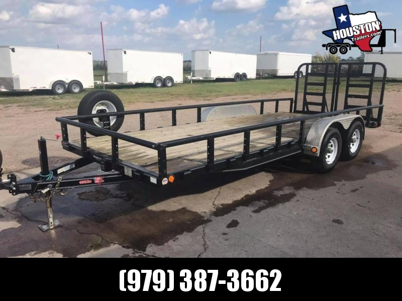 2019 PJ Trailers 20' Car Hauler / Utility 10k Car / Racing Trailer