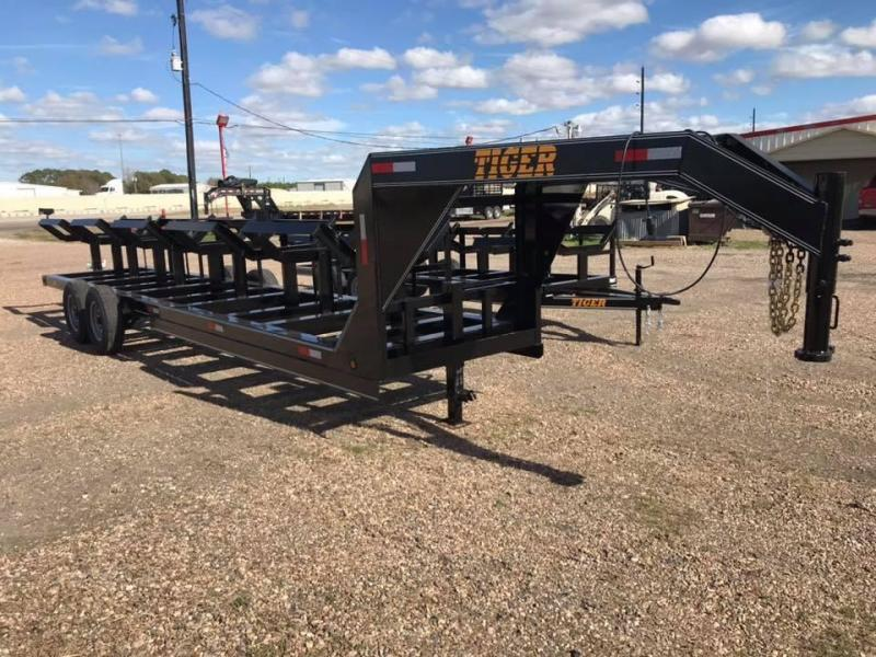 2020 Tiger 5 Bale Hay Trailer GN 14k Other Trailer