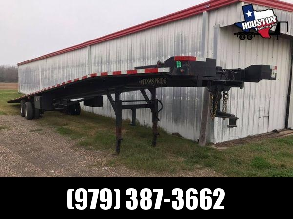 2018 Texas Pride Trailers 47' Three Car Wedge Car / Racing Trailer