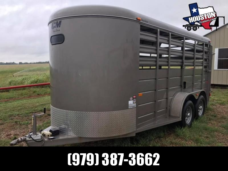 RENTAL: 2016 CM 16' Stocker 7k Livestock Trailer