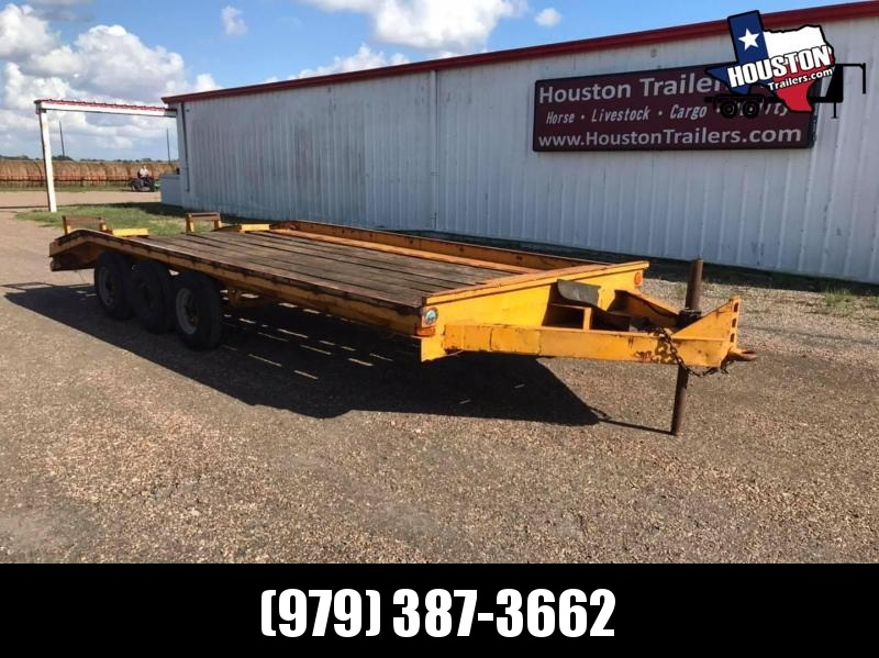 1976 Tag Max 20' EH 15k Equipment Trailer