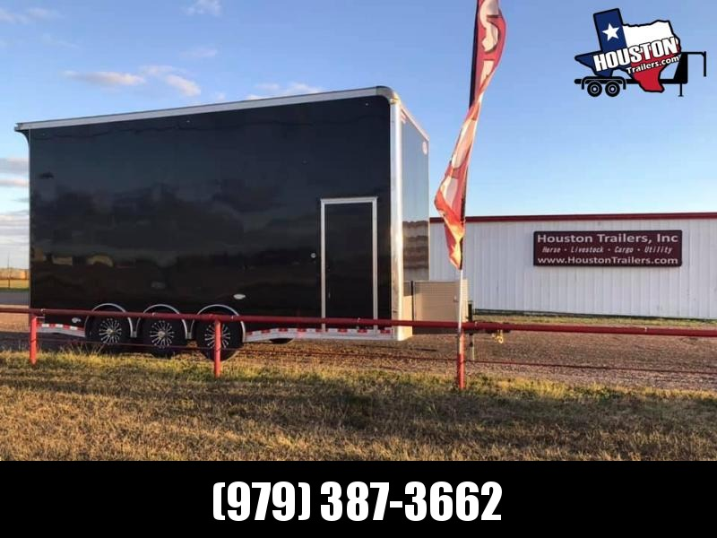 2019 United Trailers 22' Super Hauler 2 Car Stacker Car / Racing Trailer