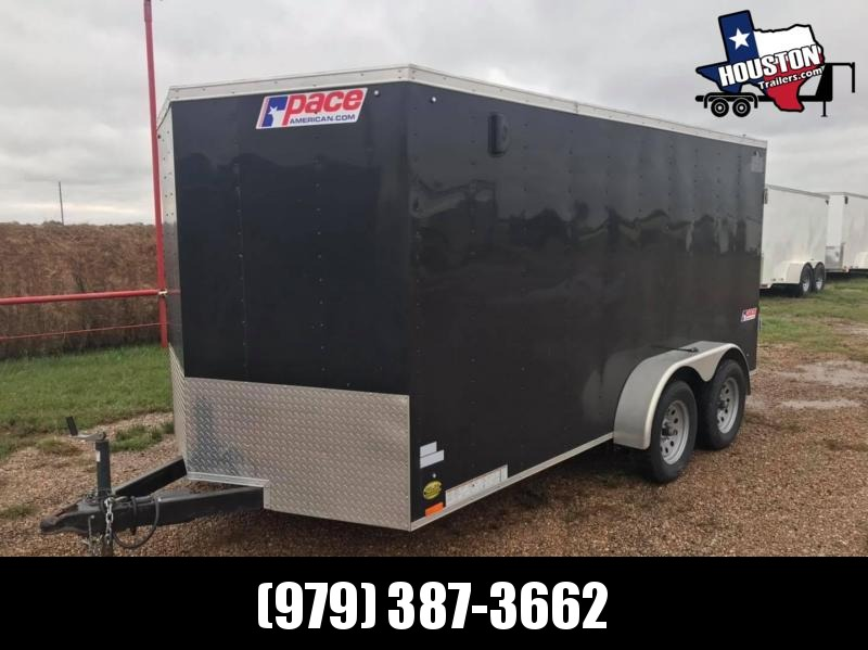 2019 Pace American 14' x 6'8 x 6'6 Enclosed Cargo 7k Enclosed Cargo Trailer