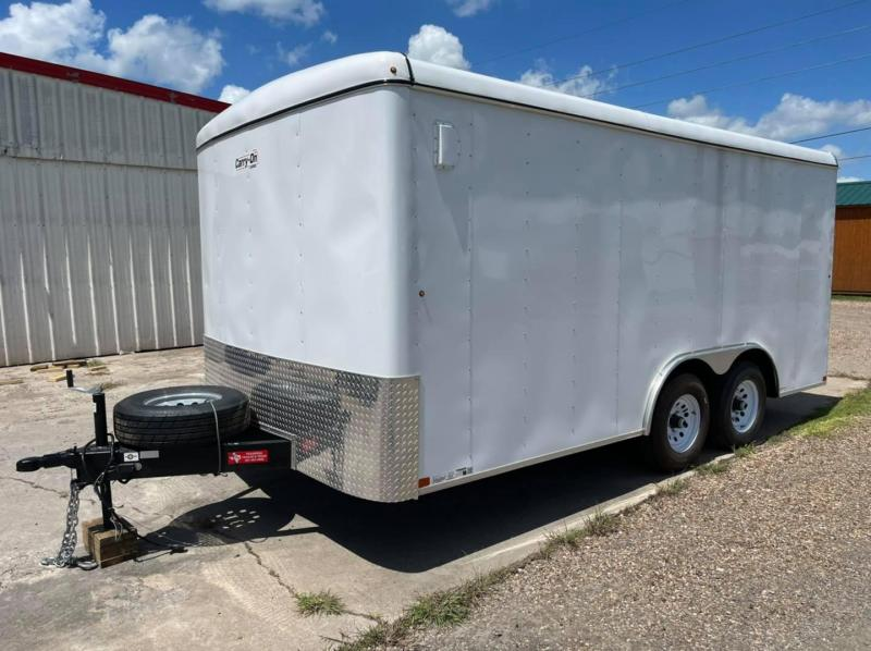 2021 Carry-On 8.5'x16' 10k Enclosed Cargo Trailer