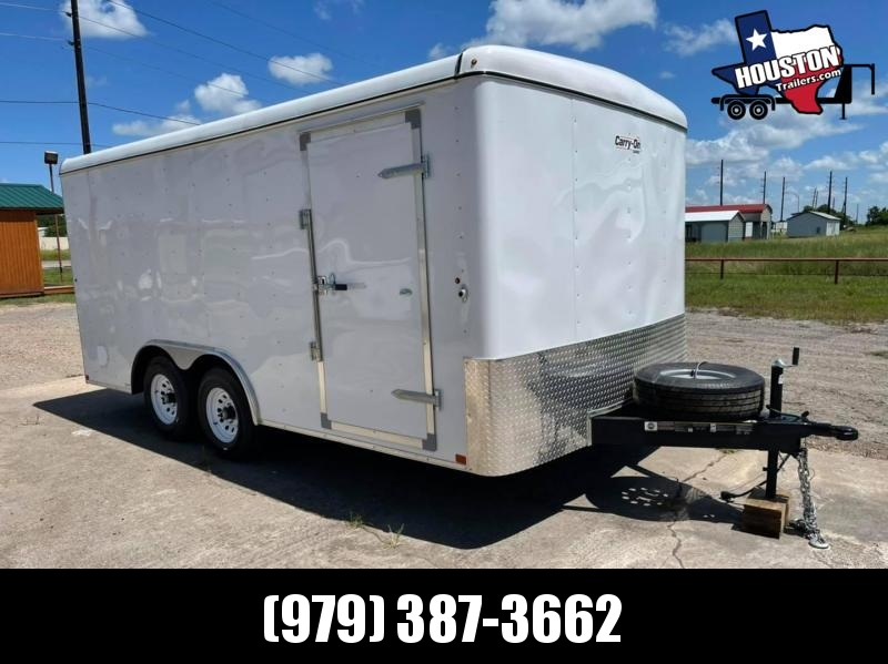 PENDING SALE: 2021 Carry-On 8.5'x16' 10k Enclosed Cargo Trailer