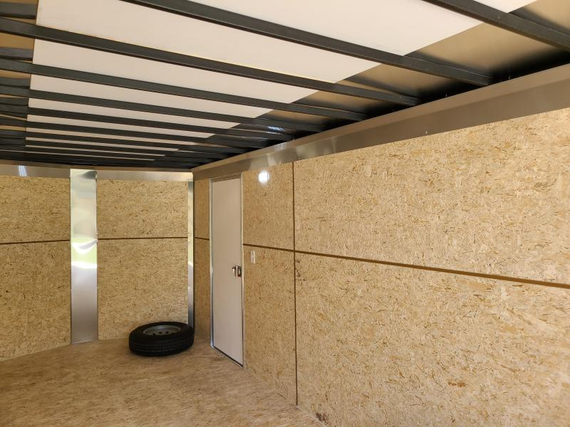 "ITI Cargo HD Series 8.5x24 Tandem Axle Enclosed 6' 6"" Interior Height 10000LB GVW Rear Ramp Door"