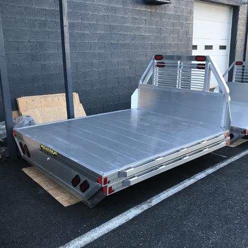 "Aluma 66"" x 77"" Truck Bed"