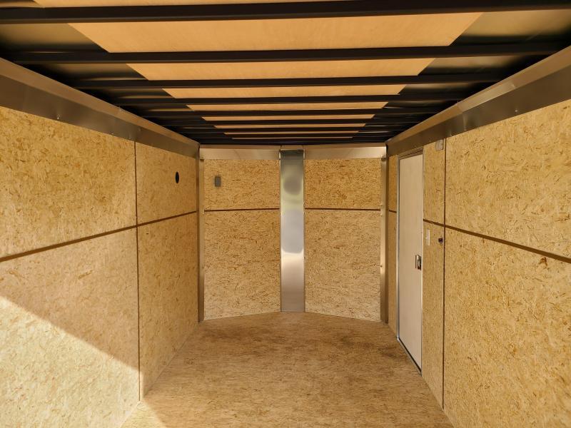 "ITI Cargo HD Series 7x14 Tandem Axle Enclosed 6' 6"" Interior Height 7000LB GVW Rear Ramp Door"