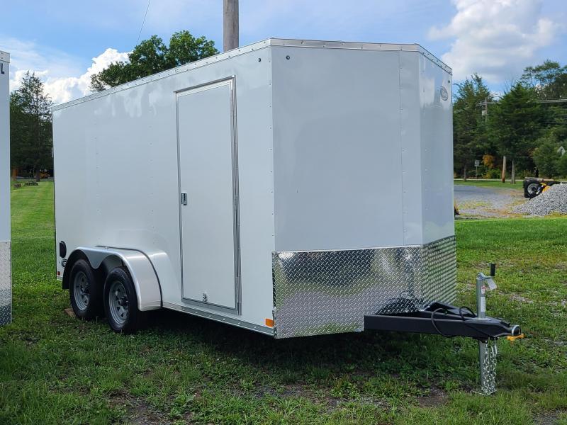 "ITI Cargo HD 7x16 Tandem 6'6"" Interior Height 7000LB GVW Rear Ramp Door"