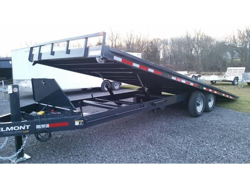 "BELMONT - 14K 8'6""x24' Full Tilt Deck Over Trailer D0924TD-14K"