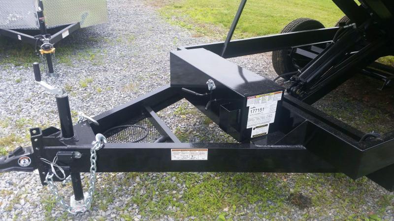 2021 Hawke 6X10 Deckover Dump 7000 LB GVW