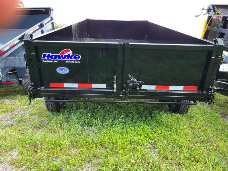 2022 Hawke Trailers HD 7X14 14000 Lo Pro Dump