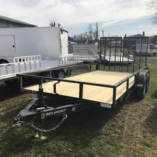 "BELMONT - 82""x16' Tube Top Double Axle"