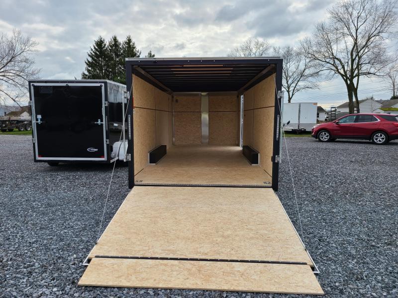 "ITI Cargo HD Series 8.5x20 Tandem Axle Enclosed 6' 6"" Interior Height 7000LB GVW Rear Ramp Door"