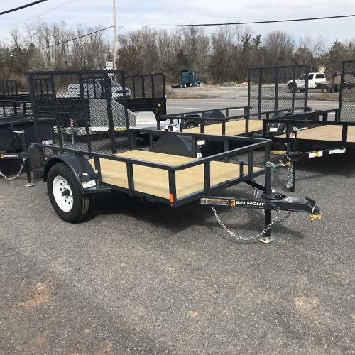 BELMONT - 5'x10' Tube Top Single Axle UT510TT