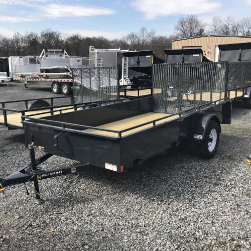 BELMONT - 6'x10' Solid Side Single Axle UT610SS
