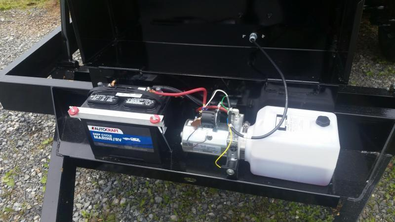 2021 Hawke Trailers 6X12 HD Low Pro 10000 Lb Dump