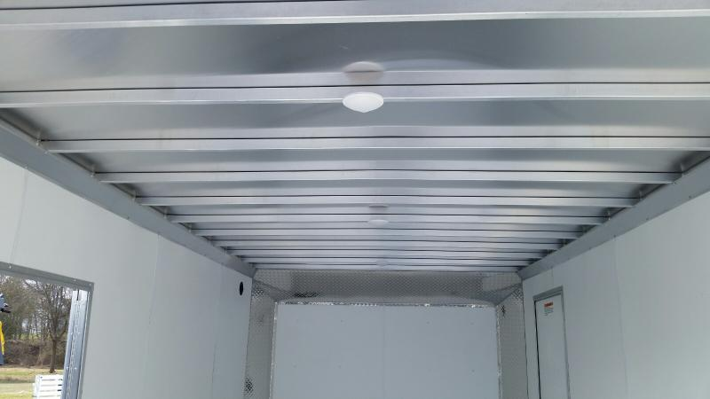 8.5x20 EZ Hauler Advantage Aluminum Enclosed With Escape Door
