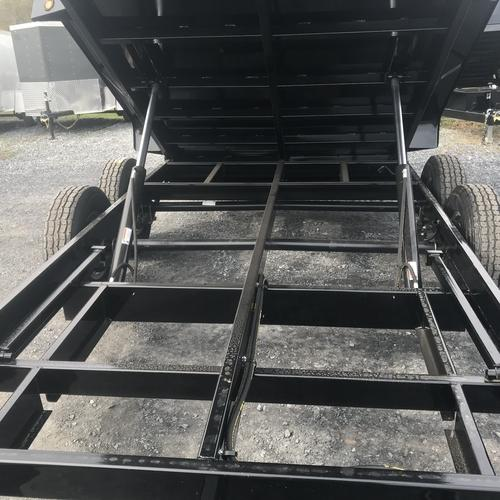 GRIFFIN - 7'x14' 14k Low Profile Dump 4ft High Sides