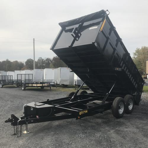 GRIFFIN - 7'x14' 14k Low Profile Dump 4ft High Sides