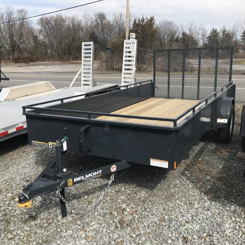 BELMONT - 6'x14' Solid Side Single Axle UT614SS
