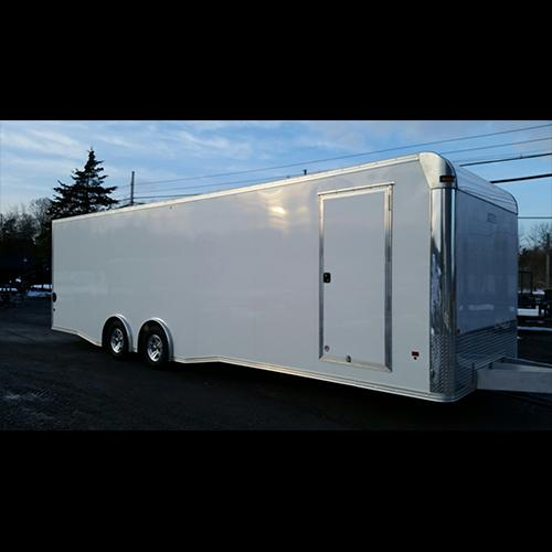 8.5x24 EZ Hauler Advantage Aluminum Enclosed With Elite Escape Door