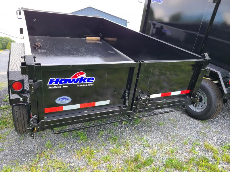 2022 Hawke Trailers 7X12 HD 12000 Lo Pro Dump