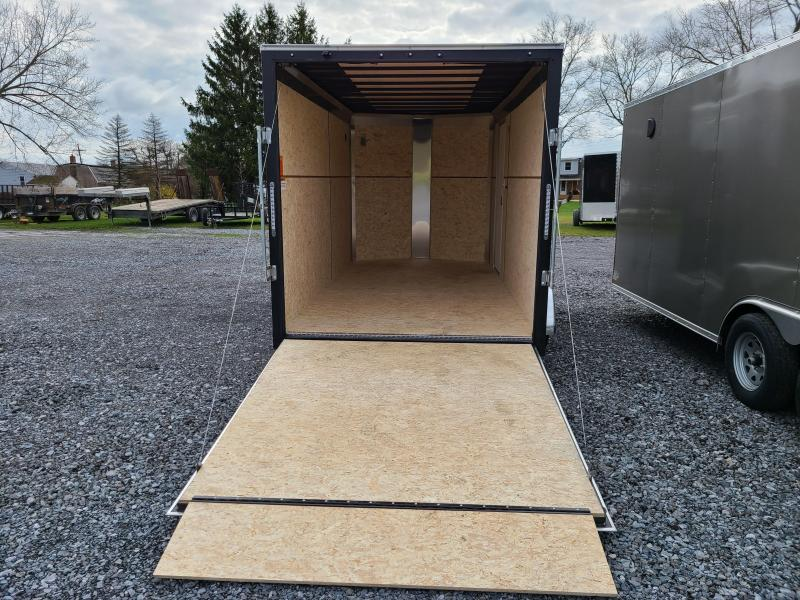 ITI Cargo HD Series 7x14 Tandem Axle Enclosed 7 Foot Interior Height 7000LB GVW Rear Ramp Door