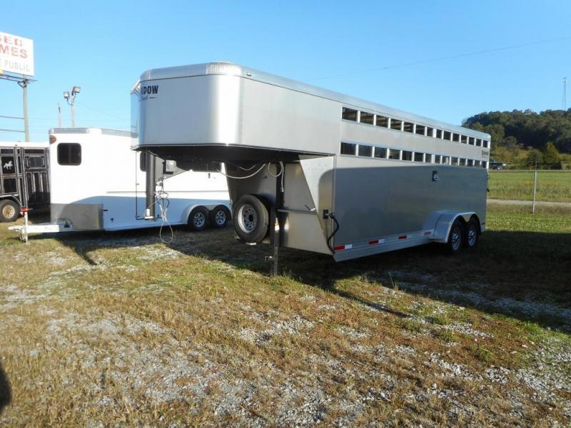 2019 Shadow Trailers 69200STK-GN Livestock Trailer