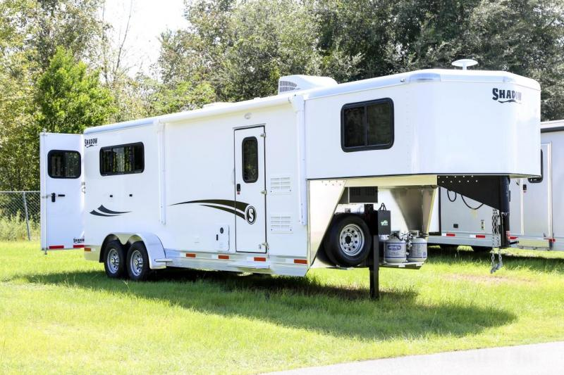 2021 Shadow Competitor 3 Horse Slant Load Gooseneck w 7 6 Living Quarters