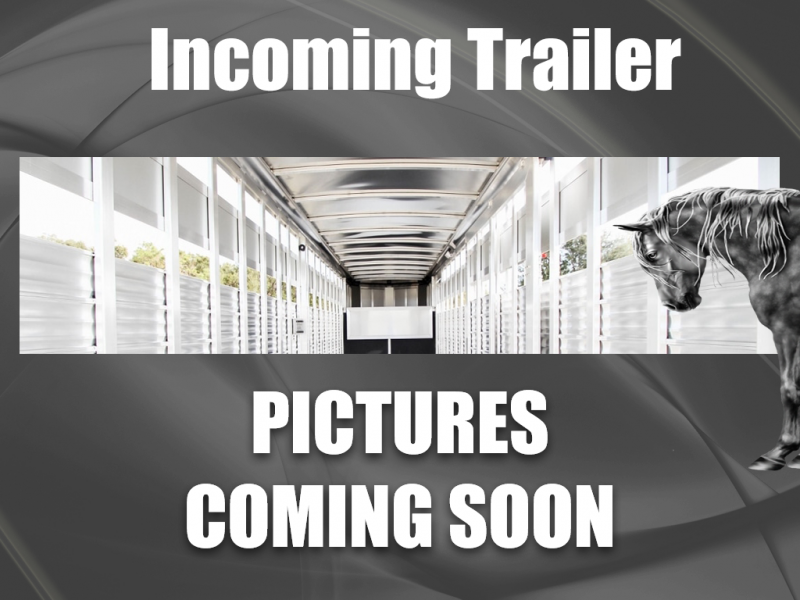 2021 Shadow Trailers 69190E-3SL-GN-E-PP Horse Trailer