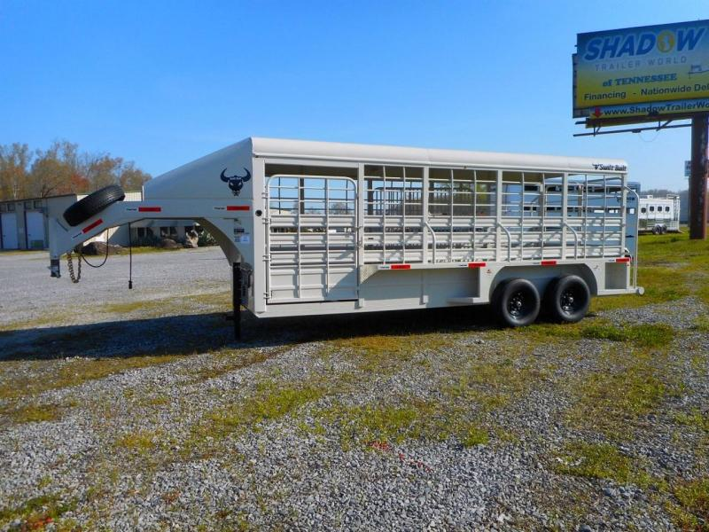 2022 Swift 20' Gooseneck Stock Trailer