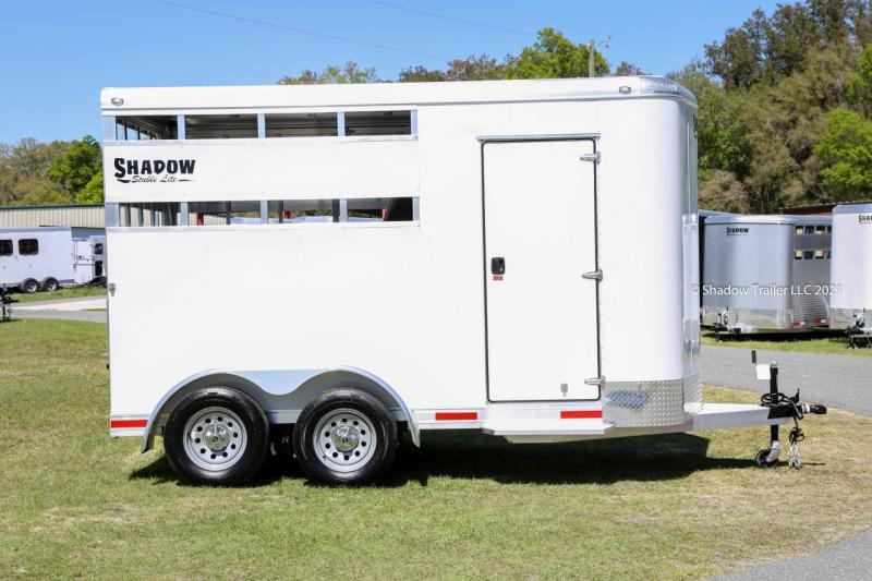 2021 Shadow Stable Lite 2 Horse Slant Stock  Bumper Pull