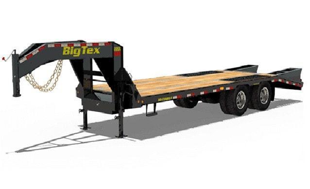 2020 Big Tex Trailers 20' Gooseneck Utility Trailer