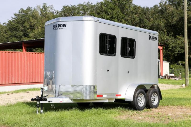 2021 Shadow Stablemate 2 Horse Slant Load Bumper Pull