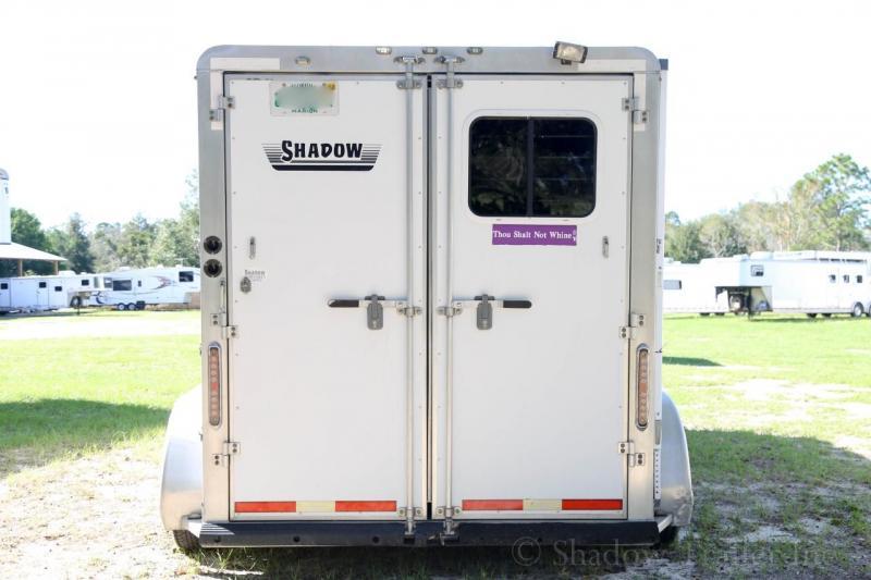 2008 Shadow 2 Horse Slant Load Gooseneck