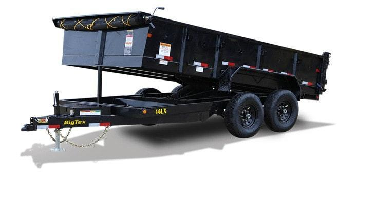 2020 Big Tex Trailers 14' Dump Utility Trailer