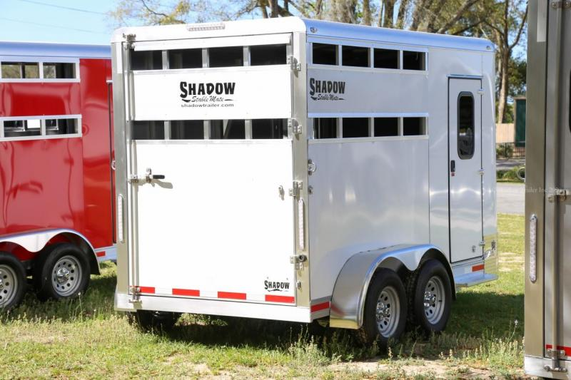 2021 Shadow Trailer World 64136SC-2SL-BP-E Horse Trailer