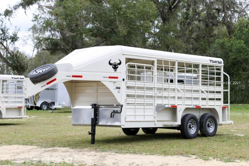 2021 Swift Built  16' Stock Trailer