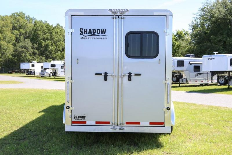 2021 Shadow Getaway 3 Horse Trailer Slant Load 9' Horse Trailer