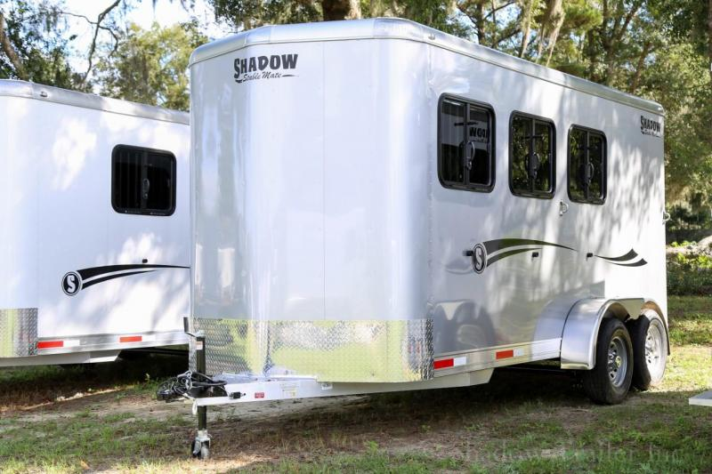 2021 Shadow Stablemate 3 Horse Slant Load Bumper Pull